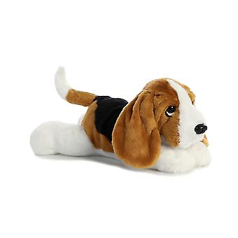 Aurora Flopsies - Basset Hound Dog Soft Toy 30cm