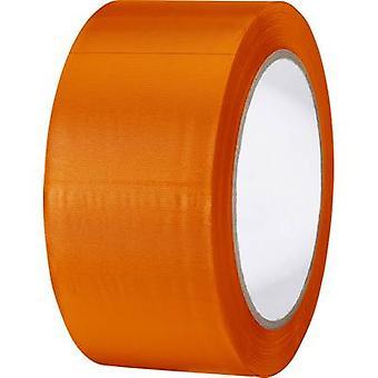 TOOLCRAFT 83240O-C PVC tape Orange (L x W) 33 m x 50 mm 1 Rolls