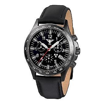 השעון השחור של שעונים מחלקה שחור טיטאן הכרונוגרף-סיקים. . אני מבין. אני