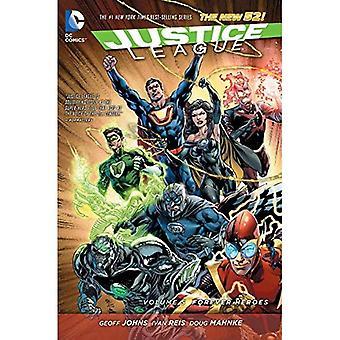 Justicia Liga volumen 5: Por siempre héroes TP (el nuevo 52) (Jla (Liga de la justicia de América))