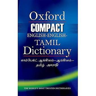 Compact dictionnaire anglais-anglais-tamoul