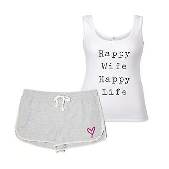 Šťastná žena šťastný život Pyjama ' s
