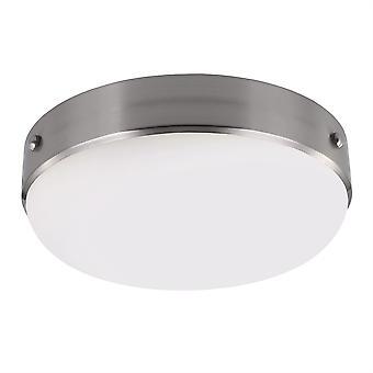 Cadence brossé en acier encastré au plafond Light - Elstead éclairage Fe / Cadence / F BS
