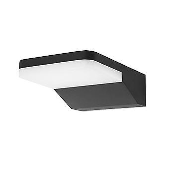 Forlight - Serenate Black LED Outdoor Wall Fixture PX-0254-NEG