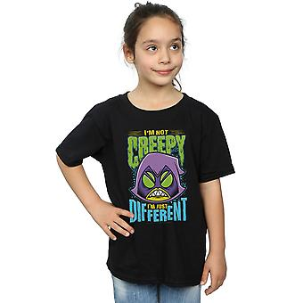 DC Comics Girls Teen Titans Go Creepy Raven T-Shirt