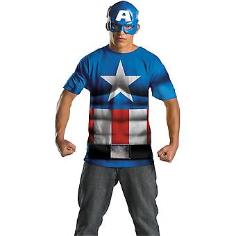 Captain America vuxen Set