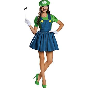 Luigi Female Adult Kit