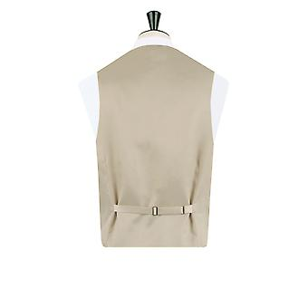 Dobell Mens Gold Paisley Waistcoat Regular Fit 5 Button Wedding