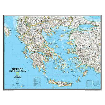 Greece and the Aegean by National Geographic Maps - 9780792249696 Book
