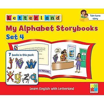 My Alphabet Storybooks - Set 4 by Lisa Holt - Stamey Carter - Lyn Wend
