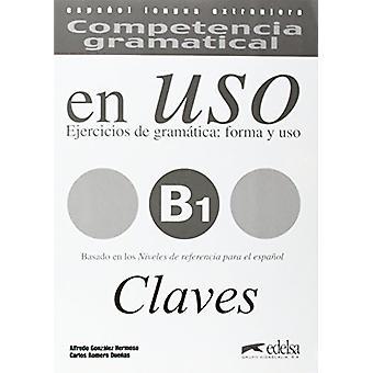 Competencia Gramatical En USO - Claves B1 - 9788477115021 Book