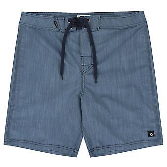 Passenger linear shorts teal