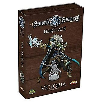 Sword & Sorcery Hero Pack Victoria the Captain/Pirate Board Game