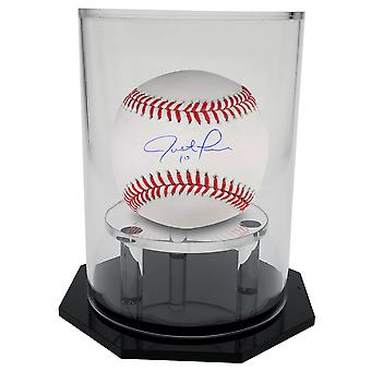 Custodia display OnDisplay Deluxe UV-Protected Baseball/Tennis - Base Nera rotonda