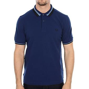 Fred Perry Textured Bold Tipped Men's Short Sleeved Polo Shirt M7386-126