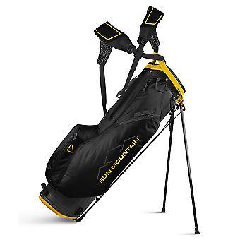 Sun Mountain Two-5 Plus Lightweight Stad Carry Gold Bag 2.5+ Steel/Black