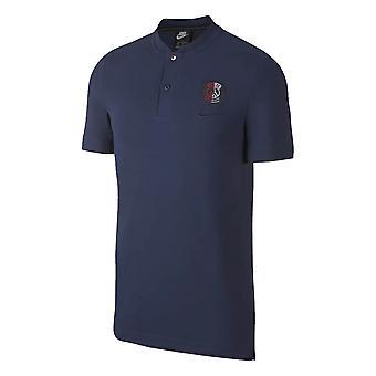 2019-2020 باريس سان جيرمان نايكي أصيلة البطولات الاربع الكبرى بولو قميص (البحرية)