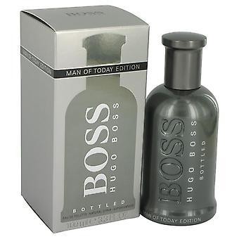 Boss No. 6 Eau De Toilette Spray (Man Of Today Edition) By Hugo Boss   540345 100 ml