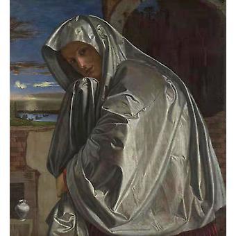 Saint Mary Magdalene,Giovanni Girolamo Savoldo,50x46cm