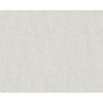A.S. creatie als creatie Plain getextureerde patroon behang moderne metallic streepmotief 306451