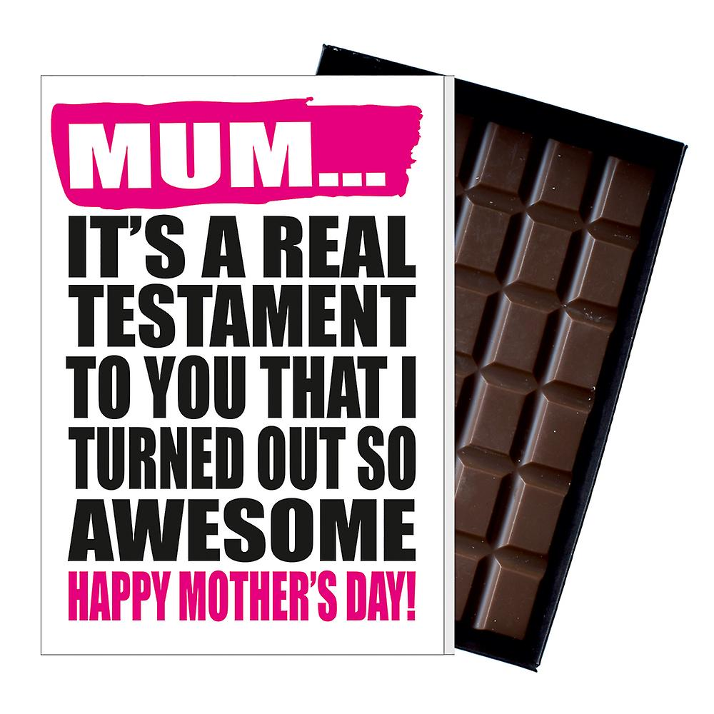 Funny Mother's Day Gift Boxed Chocolate Present Rude Greeting Card For Mom Mum Mumy MIYF121