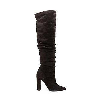 Steven by Steve Madden Womens Elisa Suede Pointed Toe Knee High Fashion Boots