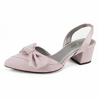 Seven Dials Womens Harr Fabric Pointed Toe Casual Slingback Sandals
