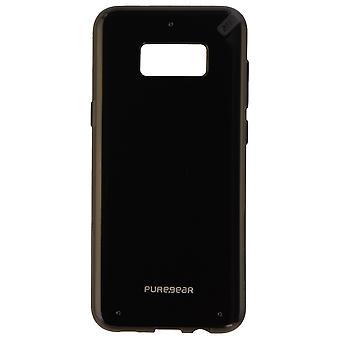 PureGear Slim Shell Series Protective Case Cover for Galaxy S8MD - Noir