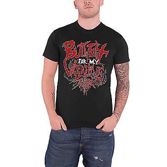 Bullet For My Valentine T Shirt Black Doom band logo Official Mens
