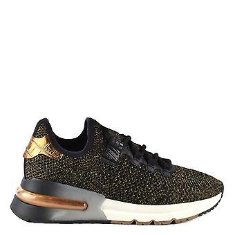 Ash Footwear Krush Bis Black And Gold Trainer