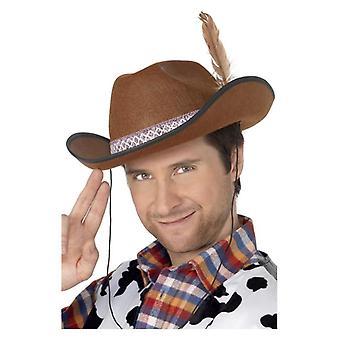 Mens Dallas Cowboy-Hut Kostüm Zubehör