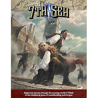 7th Sea Core Rulebook Hardcover Book