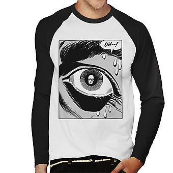 The Phantom Pupil Reflection Men's Baseball Long Sleeved T-Shirt