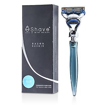 Eshave 5 blad barberhøvel - blå - 1pc