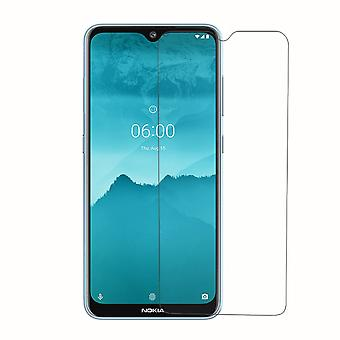 Nokia 7,2 Tank skydd display glas bepansrade folie 9H Real glass-1 Piece