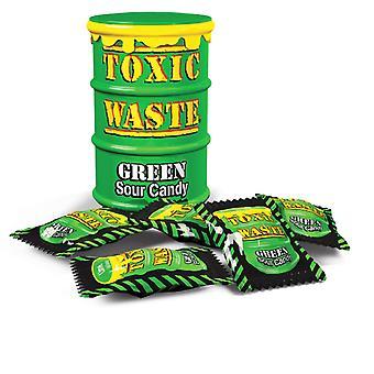 Giftig avfall hazardously Green Drum Sour Candy