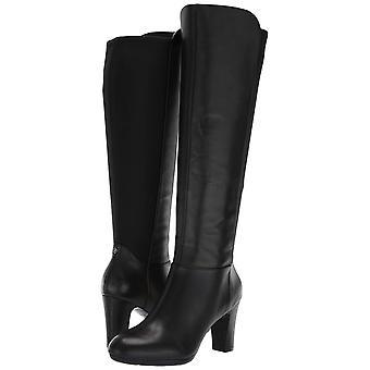 Anne Klein Women's Sylvie Heeled Boot Knee High, Black, 8.5 Medium/Wide Shaft...