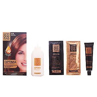 Llongueras Optima cheveux couleur #6.34-golden Blond foncé unisexe