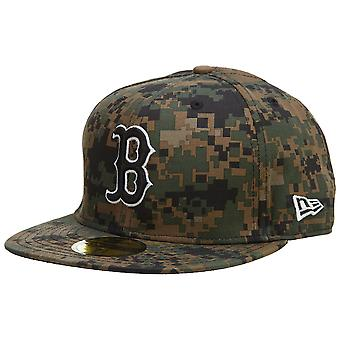 New Era Boston Red Sox Fitted Hat Mens Style : Hat462