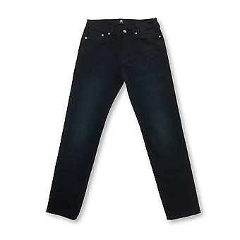 Paul Smith tapered fit jeans in blue denim