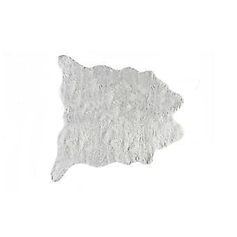 """0.8 """"x 90"""" x 63 """"מפוארים אקריליק, פוליאסטר שטיח אפור"""