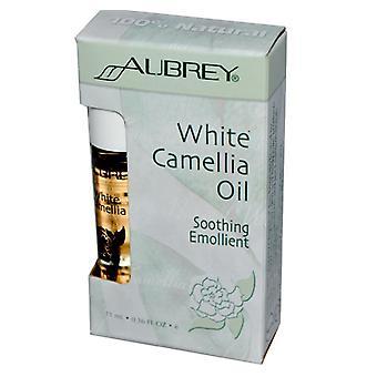 Biały Olej kamellia Kojący emolient (11 ml) - Aubrey Organics