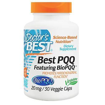 Beste PQQ, 20 mg (30 Vegetarische Kapseln) - Doctor's Best