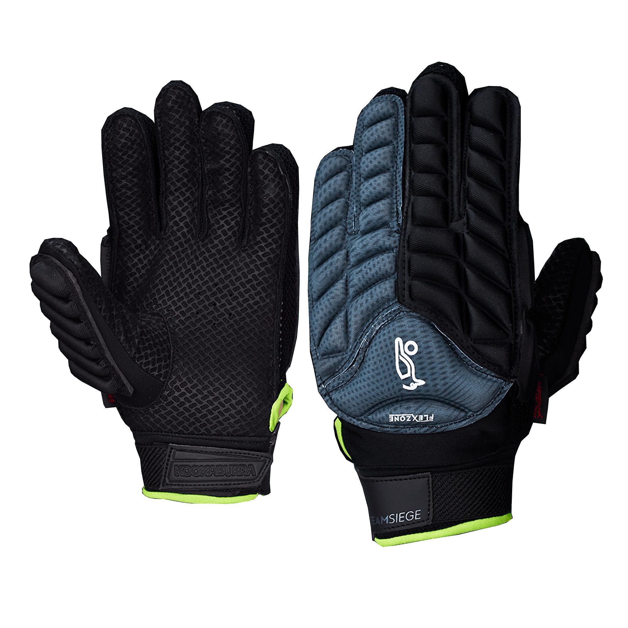 Kookaburra 2018 Team Siege Field Hockey Hand Guard Glove Protection Grey