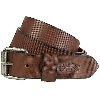Billabong Daily Leather Belt in Brown
