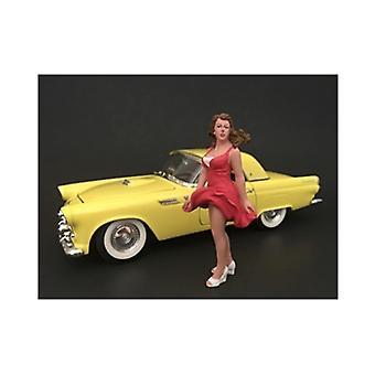 70's Style Figur VIII Für 1:24 Maßstabsmodelle von American Diorama