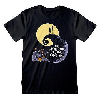 Koszmar przed Bożym Narodzeniem Plakat Oficjalny T-Shirt
