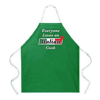 Tablier italien de cuisinier
