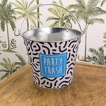 Deck Chair Gifts Party Trash Bucket