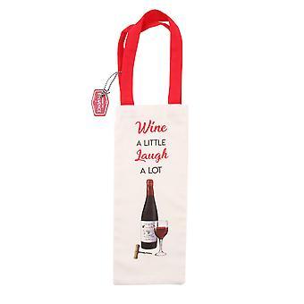 CGB Giftware Vino Un Po 'Di risata Un sacco di bottiglia di vino